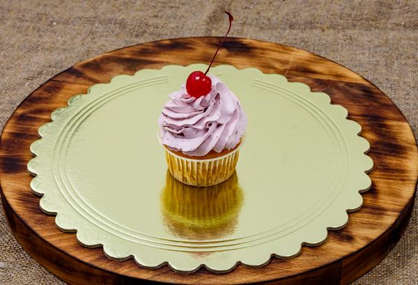 Кап-кейк вишня со сливками