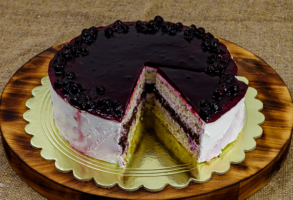 Торт «Смородиновый блюз»