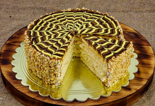 Торт «Соленая карамель»