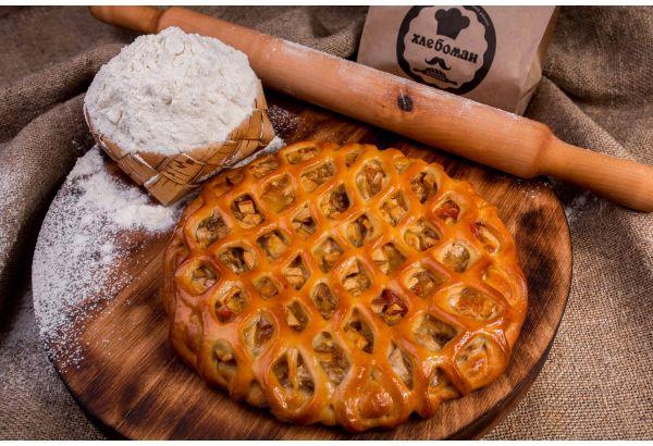 Пирог с Груша и Банан