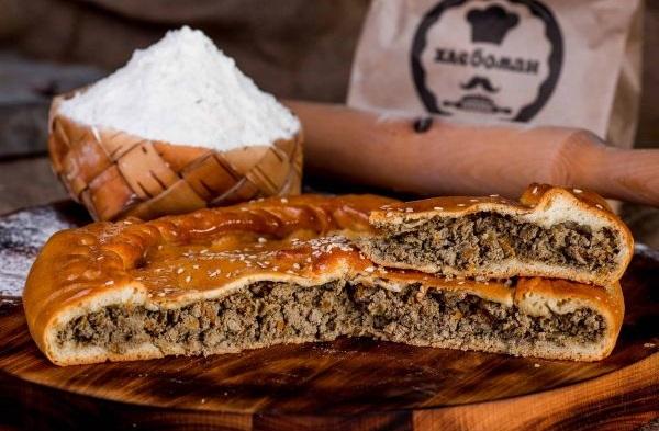 Пирог с печенью