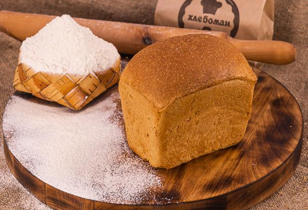 Хлеб ржано-пшеничный малый