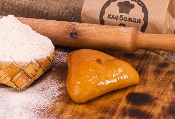 Пирожок грибы с картошкой