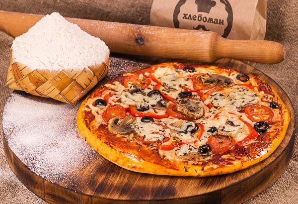 Пицца вегетарианская 30 (см).