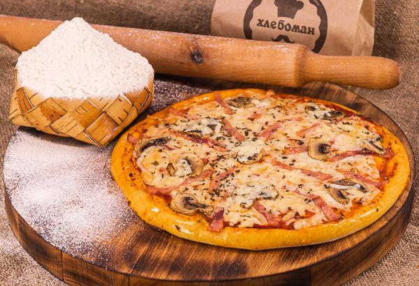 Пицца ВЕТЧИНА И ГРИБЫ 30 (см).