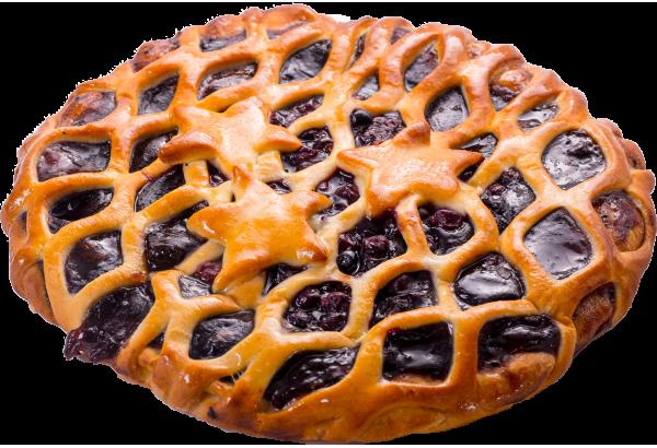 Пирог черная смородина