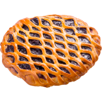 Пирог с конфитюром черника