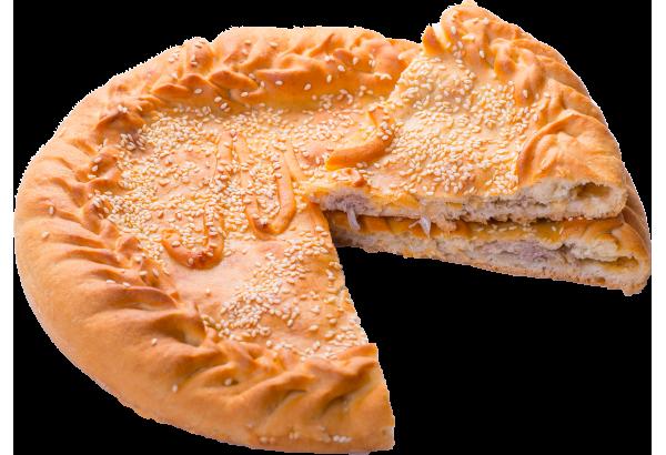 Пирог с мясом свинины и сыром