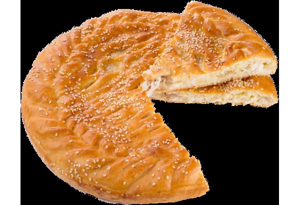 Пирог с филе (курица) и ананас