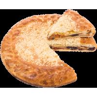 Пирог трехслойник